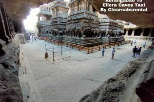 Aurangabad to Ellora Taxi From Clearcabsrental